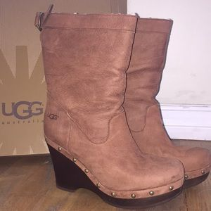 UGG Carnegie wedge boots